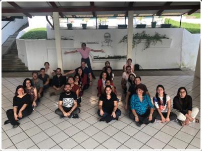 Participantes en taller AMI